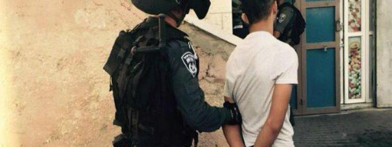 Eight wanted terror suspects arrested by the Israeli authorities
