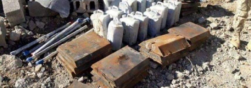 Facility used by ISIS terrorists for making bombs found in Anbar