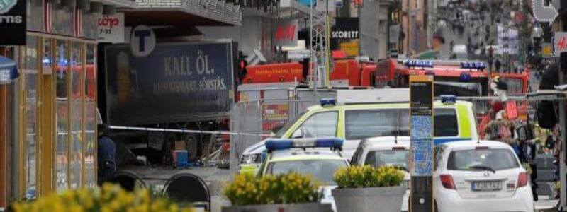 Four people killed in Stockholm beer truck attack described as terrorism