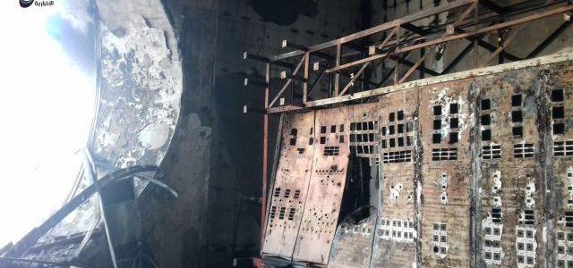 ISIS claims key Raqqa dam on brink of collapse and tweets picture of wrecked control room