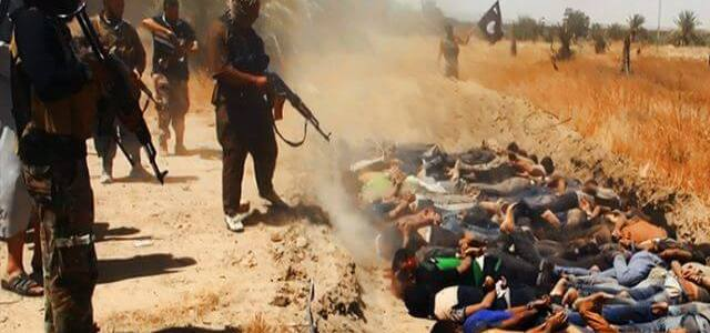 ISIS executed over 500 Iraqi prisoners, dumped them in mass graves west of Mosul