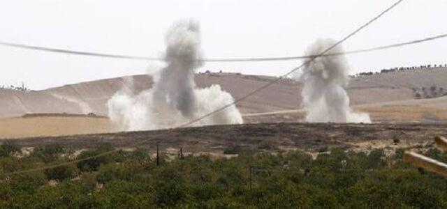 ISIS terrorists blow up a major natural gas field in Syria