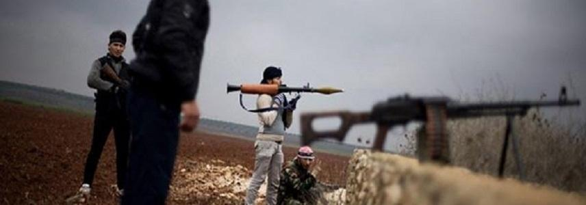 ISIS terrorists storm rival group's defense lines at Damascus-Homs border