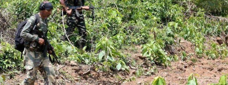 Indian forces killed at least 10 Maoist rebels in raid on training camp