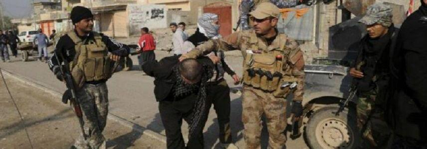 Iraqi forces arrest four Islamic State terrorists west of Mosul