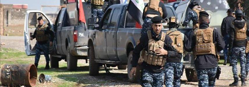 Iraqi police forces arrested ISIS terrorist group member in Mosul