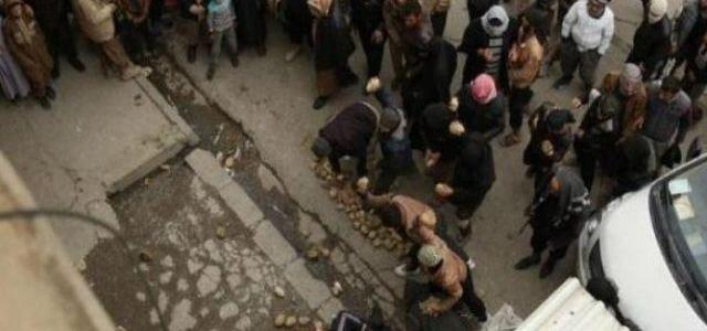 Islamic State terrorists stoned to death a youth accused of homosexuality in Mosul
