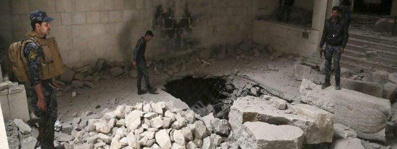 Islamic State terrorists used Mosul Museum as Tax Department