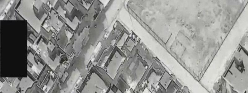 Mosul drone footage reveals that ISIS is using civilians as human shields