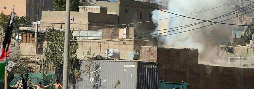 Rockets hit near Kabul presidential palace in Afghanistan
