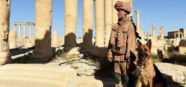 Russian soldier killed by ISIS in attack near Syria's city of Palmyra