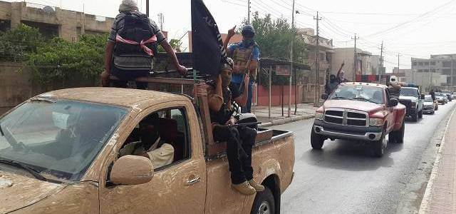 Sinai branch of ISIS cuts off roads to trucks carrying goods to the Gaza Strip