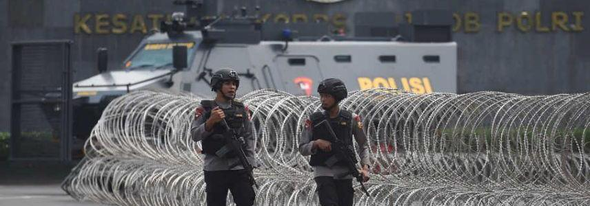 Six people killed in prison riot near Jakarta as ISIS claimed responsibility