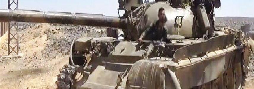 Syrian Army destroys ISIS position in al-Safa in Sweida Badyia