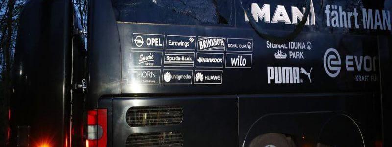 Three roadside bombs that struck Borussia Dortmund team bus were detonated by mobile phone