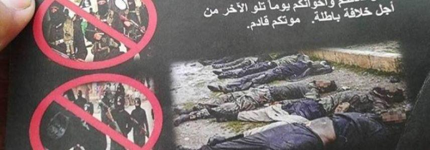 U.S-led forces leaflets to ISIS: 'Your death is inevitable'