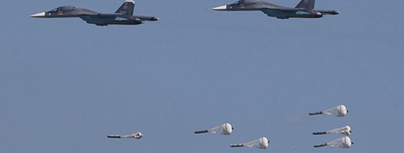 Russian airstrikes destroy terrorist training base in Syria