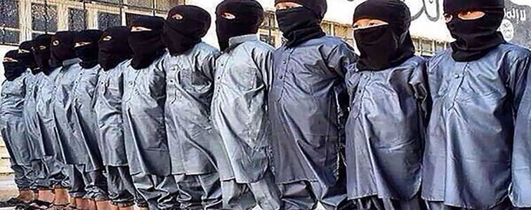 Thirteen-year-old boy locked up in prison for child Islamic State terrorist group members