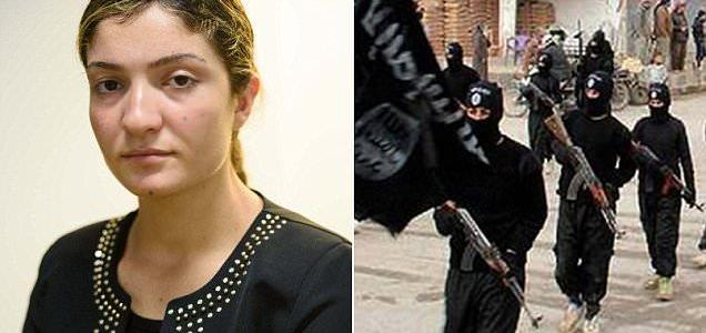Ex-ISIS sex slave reveals her agony after leaving the child behind in her bid for freedom