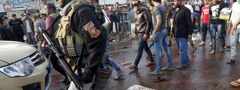 Four ISIS suicide bombers and 2 Iraqi officers killed in western Anbar attack