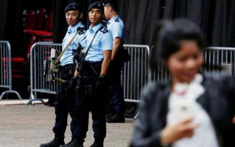 Hong Kong police on high alert over threat of ISIS-inspired lone wolf attacks