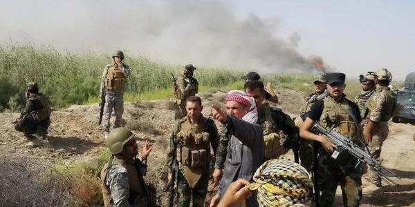 Iraqi Army Forces target dangerous meeting of ISIS leaders in Western Anbar