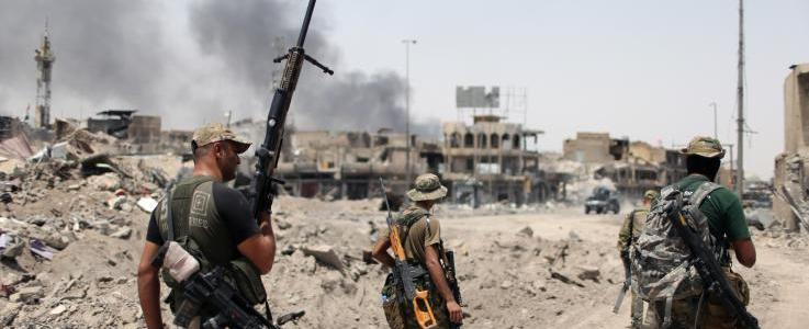 Iraqi Forces kill ISIS's explosives official near Mosul's Old City