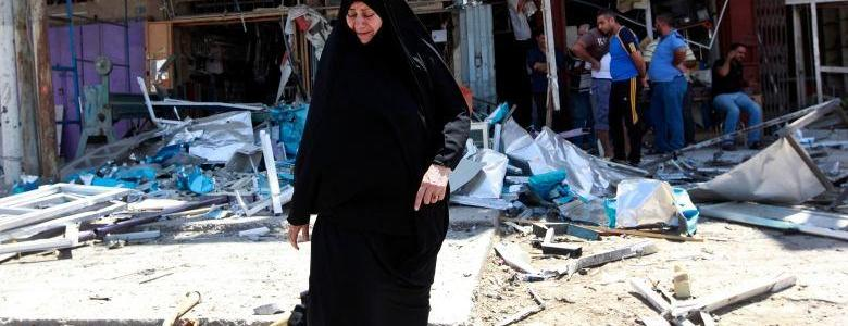 ISIS car bombs kill at least nine police officers in west of Mosul