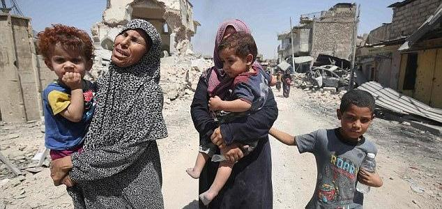 ISIS defends territory by killing women and children