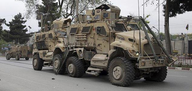 ISIS suicide car bomb attack on US convoy in Afghanistan leaves 8 dead and 28 wounded including 3 American soldiers