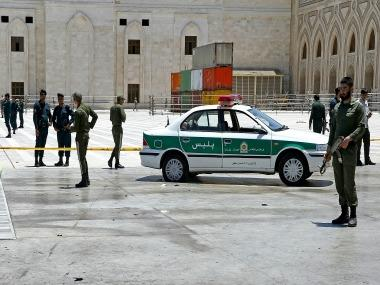 Islamic State claims responsibility for the terrorist attack in Iran