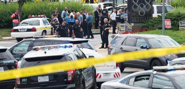 Annapolis shooting suspect damaged his finger tips to thwart identification