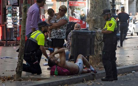 Terrorist attack in Barcelona : Multiple casualties as van ploughs into crowd at Las Ramblas