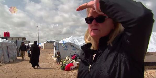 Australian woman finds her grandchildren in Syrian refugee camp after their mom joined ISIS terrorist group