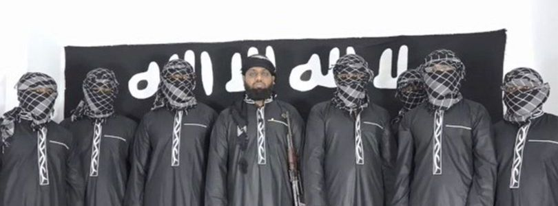 Islamic State terrorist group release picture of Sri Lanka bombings mastermind and seven attackers