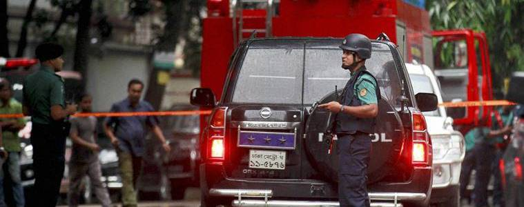 ISIS terrorist group claimed responsibility for the cocktail attack on Dhaka police