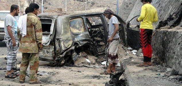 ISIS terrorists kill city governor and six of his bodyguards in Yemen car bombing