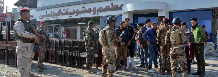 Suspected ISIS bombing targets Iraqi troops in Fallujah