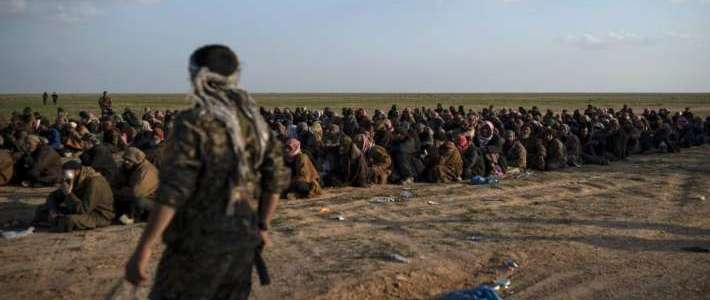 Syrian Defence Forces hands over another 200 ISIS terrorists to Iraq