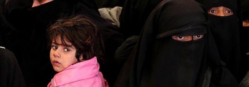 Islamic State families convoy arrived in Mosul