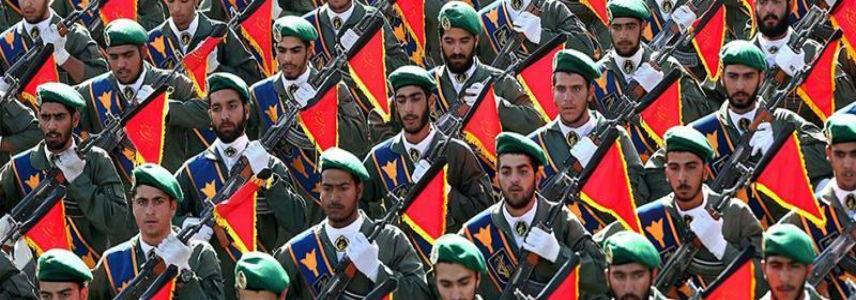The U.S authorities labeled Iran's Revolutionary Guard Corps as terrorist group