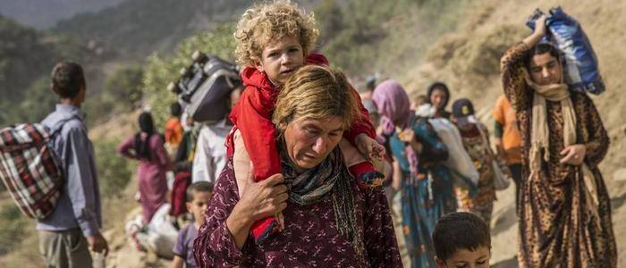 Children born of ISIS fathers and Yazidi mothers head to Europe