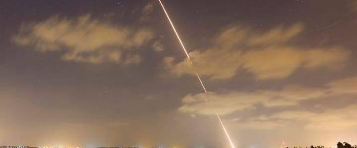 Hamas fired two rockets at southern parts of Israel