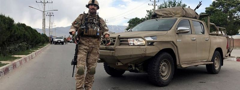 Suicide bomber targets Afghan military training centre in Kabul