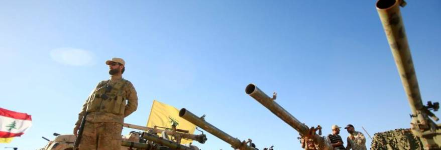 The Iranian Revolutionary Guard Corps set up a training base in Lebanon