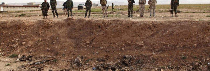 UN excavates at least twelve ISIS mass graves in Iraq