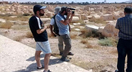 Armenian state television documents the Islamic State crimes in Palmyra