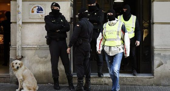Spanish police made ten arrests in operation against terrorist funding