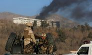 At least three people are killed in the latest Afghan hotel attack