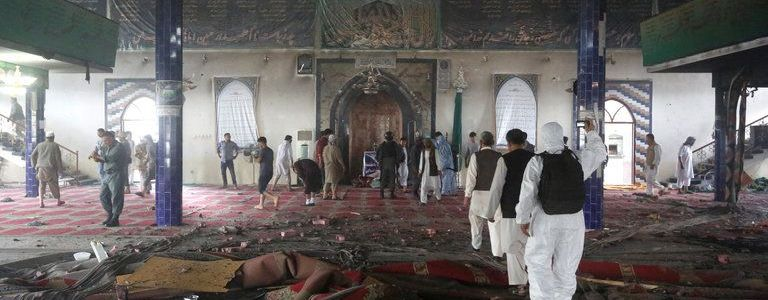 Islamic State carried out attack at Shi'ite mosque in central Afghanistan